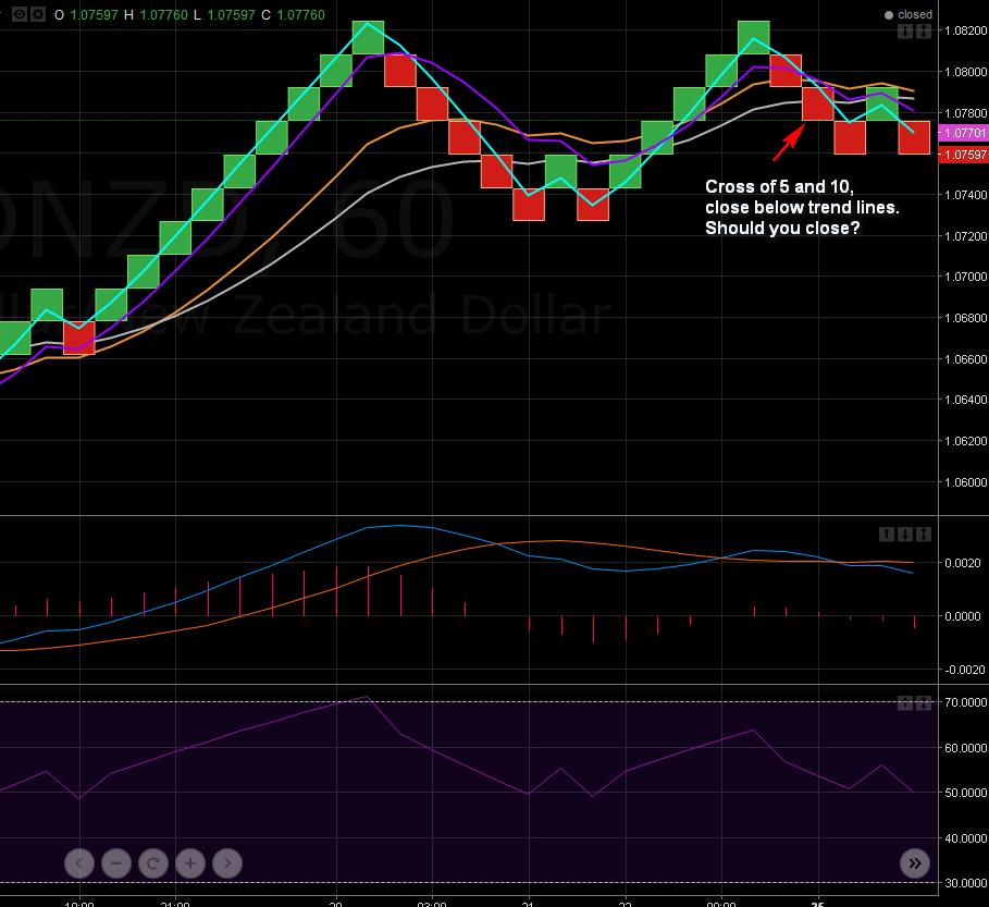 Renko brick chart trading strategy (Forex, stocks system