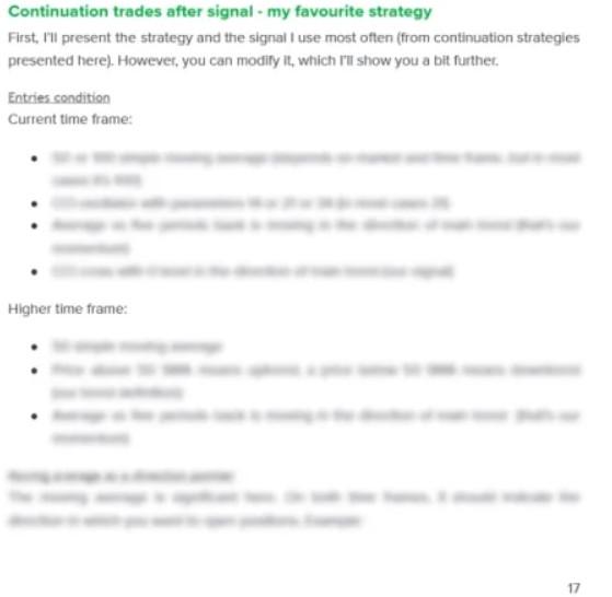 details of pivot strategies